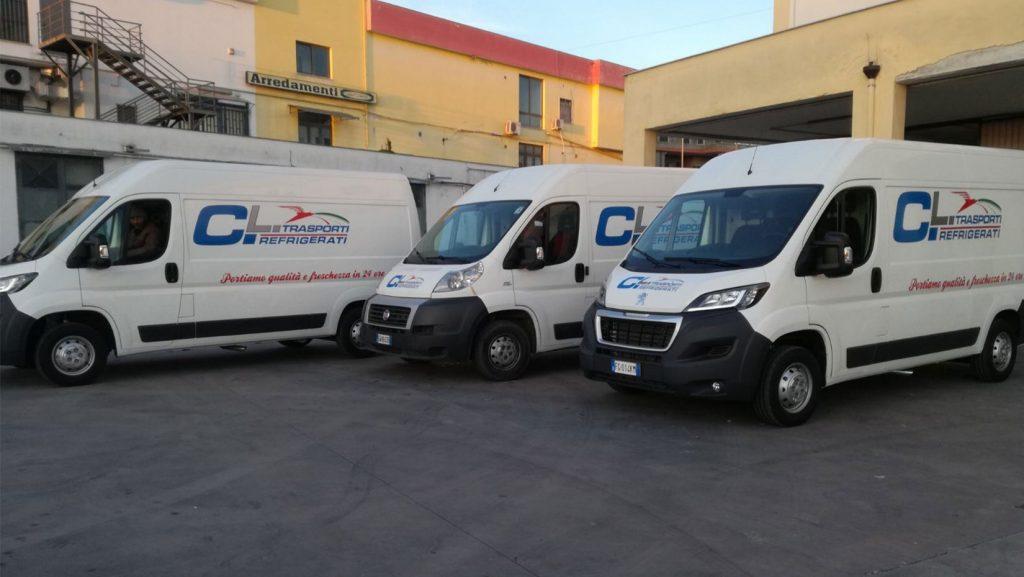 furgoni per trasporto a temperatura controllata, cl distribuzioni